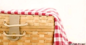 Dinner Party Idea: Indoor Picnic - Dresses and Appetizers