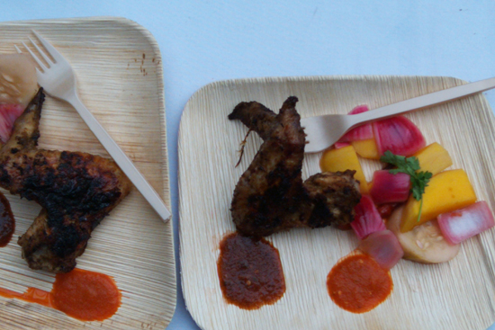 Grilled Jerk Chicken by Hunter Lewis: Saveur's First Annual BBQ - Dresses & Appetizers