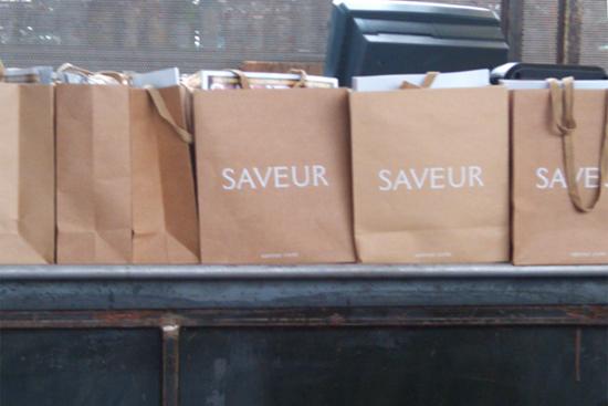 Saveur Magazine Gift Bags