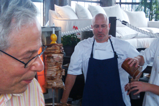 Top Chef Judge, Tom Colicchio - Saveur's First Annual BBQ - Dresses & Appetizers