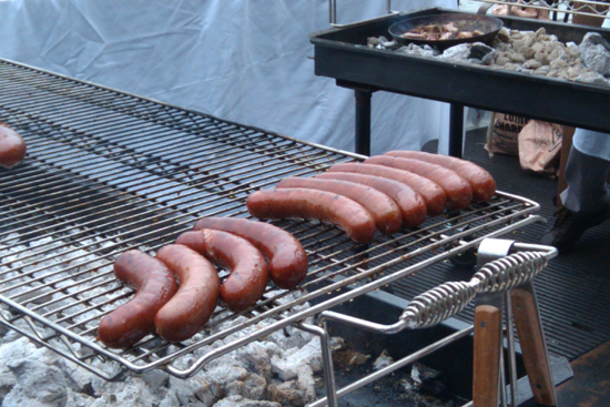 Beef Kielbasa - Saveur's First Annual BBQ, Dresses & Appetizers