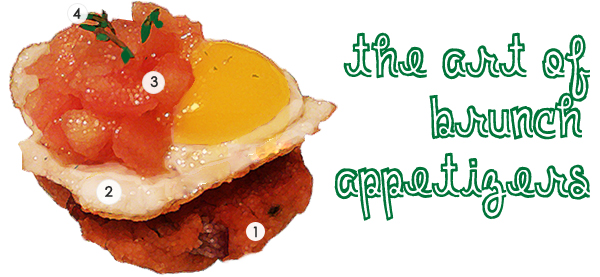 Salmon Croquettes and Quail Eggs Appetizer Recipe