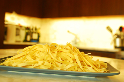 Pasta: Fresh Linguini - Dresses & Appetizers