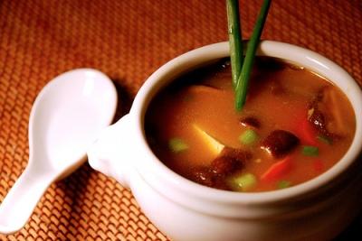 Lemongrass and Shiitake Miso Soup - Dresses & Appetizers