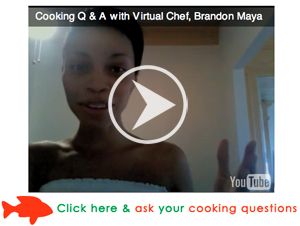 Ask a Cooking Question! Dresses & Appetizers