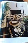 Gourmet Magazine, October 1974: Formal Dinner Picture - Dresses & Appetizers
