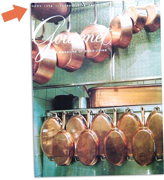 Gourmet Magazine June 1976 Picture - Dresses & Appetizers