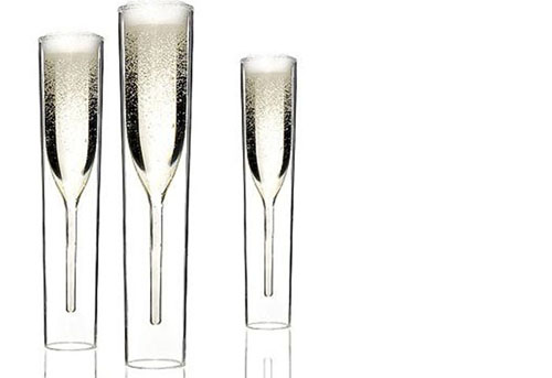 Virtual Brunch Party: Inside Out Collection Champagne Glass - Dresses & Appetizers