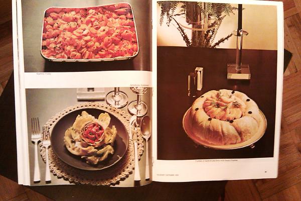 Gourmet Magazine, October 1974: A Formal Menu – Dresses & Appetizers
