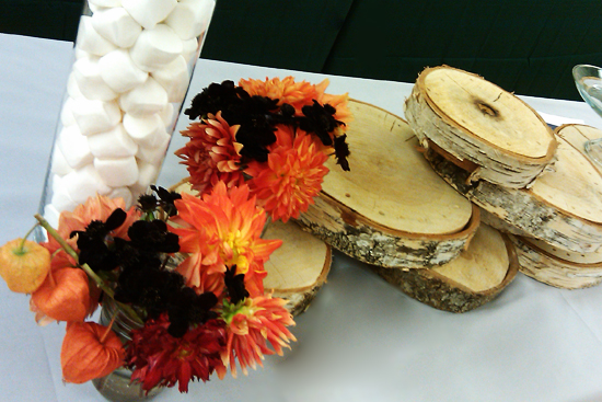 S'mores Push Pop Station Union Square Events Catering, Plate by Plate - Dresses & Appetizers