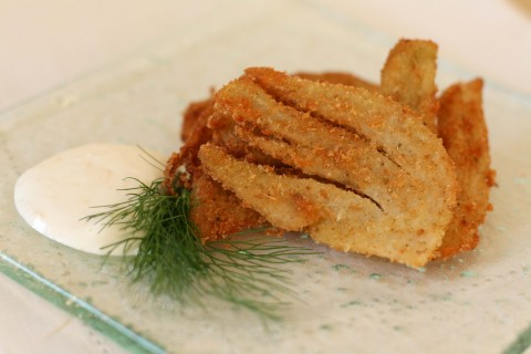 Fennel Fritters Recipe, Food & Style - Dresses & Appetizers