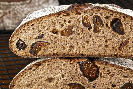 Fig Fennel Bread Recipe, Wild Yeast - Dresses & Appetizers