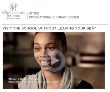 The French Culinary Institute Video Interview with Brandon Maya