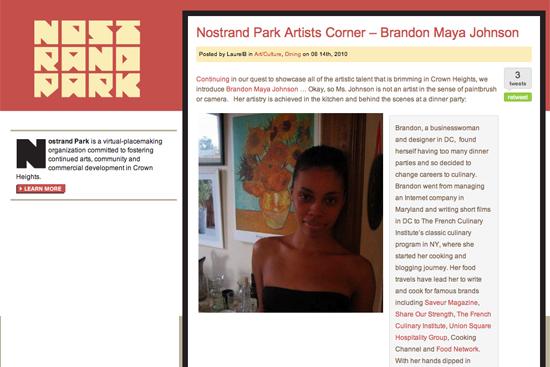 Nostrand Park Interview, Brandon Maya