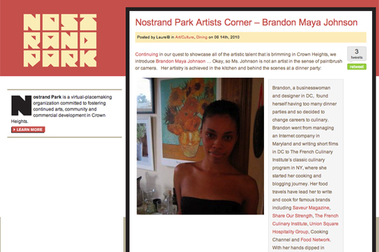 Nostrand Park Interview, Brandon Maya