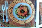 Vintage Valentine's Day Food, Green Bean and Shiitake Salad with a Potato Ring, February 1986 Gourmet Magazine, Dresses & Appetizers