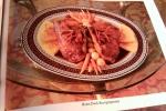 Roast Duck Bourguignonne, Vintage Gourmet Magazine, Dresses & Appetizers