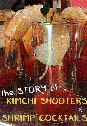Shrimp Cocktail and Kimchi Recipe, Dresses & Appetizers