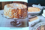 Almond Angel Food Cake, Vintage Gourmet Magazine, Dresses & Appetizers