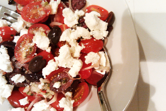 Tomato and Goat Cheese Appetizer Salad Recipe