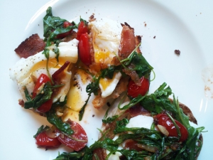 Broken Poached Egg picture