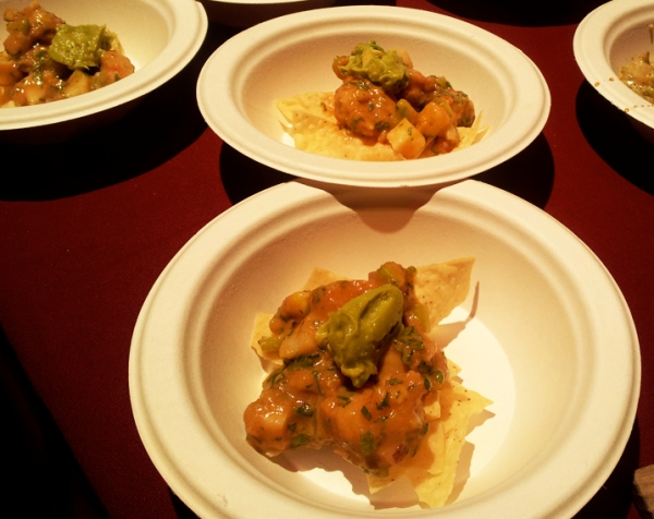 Beer-laced Shrimp and Guacamole, Hop Chef DC and Witt Beer