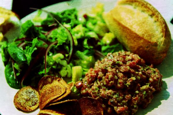 Raw Beef Tartare Appetizer Recipe